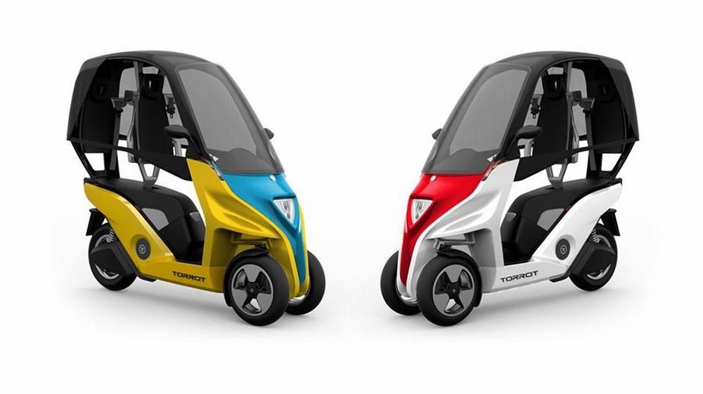 torrot velocipedo 2018 le 3 roues lectrique toit venu d espagne scooter dz. Black Bedroom Furniture Sets. Home Design Ideas