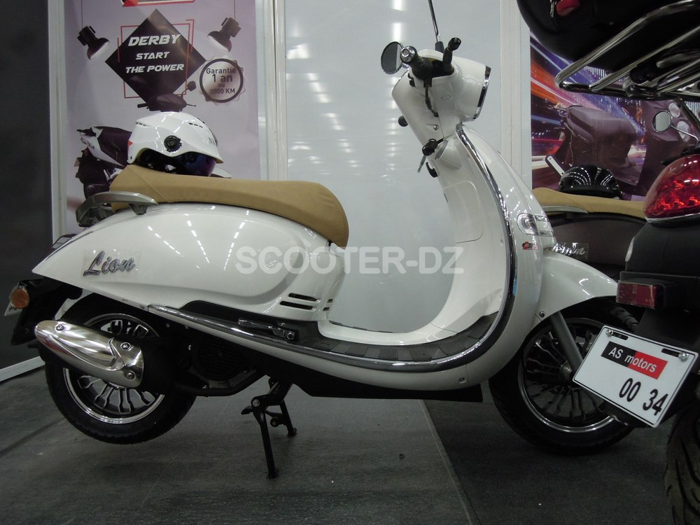 FPA 2017 : AS MOTORS nous dévoile son nouveau scooter rétro 125
