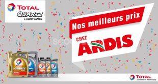 """Lubrifiant Total Hi-Perf 2Temps / 4 Temps, une offre spéciale """"Ardis"""""""