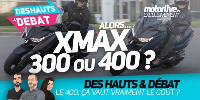 xmax 300 vs xmax 400 quel maxiscooter yamaha choisir des hauts et d bat scooter dz. Black Bedroom Furniture Sets. Home Design Ideas
