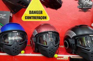 Contrefaçon : alerte sur les casques de la marque SHARK