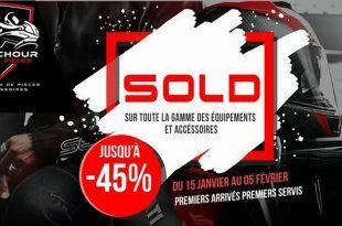 Sidi Achour Motos Pièces : Solde du 15 janvier au 05 février