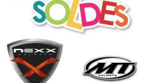 Soldes 2018 : promotion sur les casques NEXX et MT Helmets !