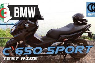 Vidéo Essai Complet BMW C 650 Sport