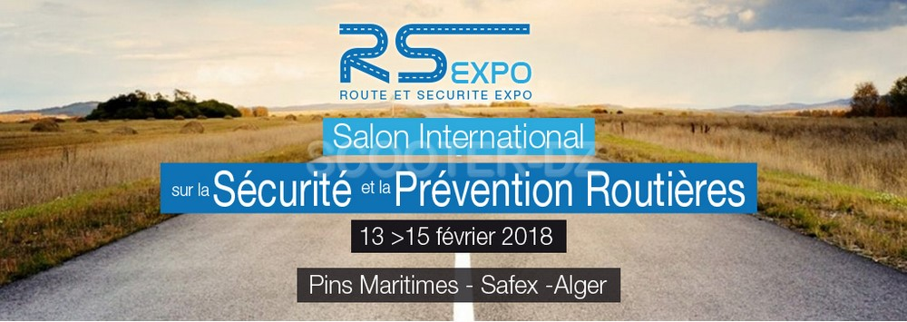 RS EXPO'18, 1er Salon International de la Sécurité et de la Prévention Routière