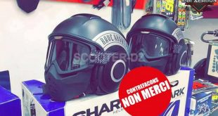 "Alerte contre des casques contrefaits portant le label ""Shark"""