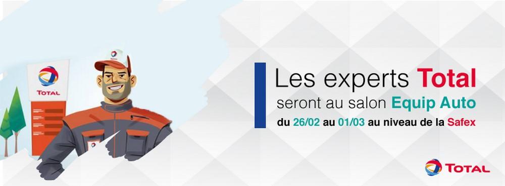 Total Algérie : un casque à gagner lors de ce EQUIP'AUTO 2018