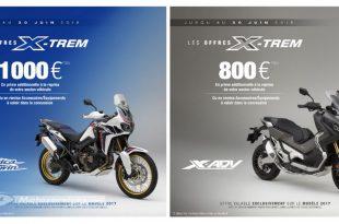 Honda X-Trem Africa Twin et X-ADV : promo reprise ou accessoires