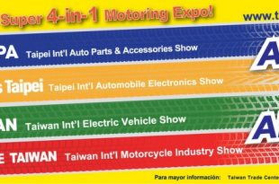 Taïwan 2018 : Asia'a Super 4-in-1 Motoring Expo !