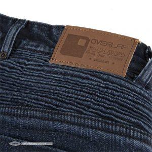 Overlap Castel : un jean moto slim et vintage