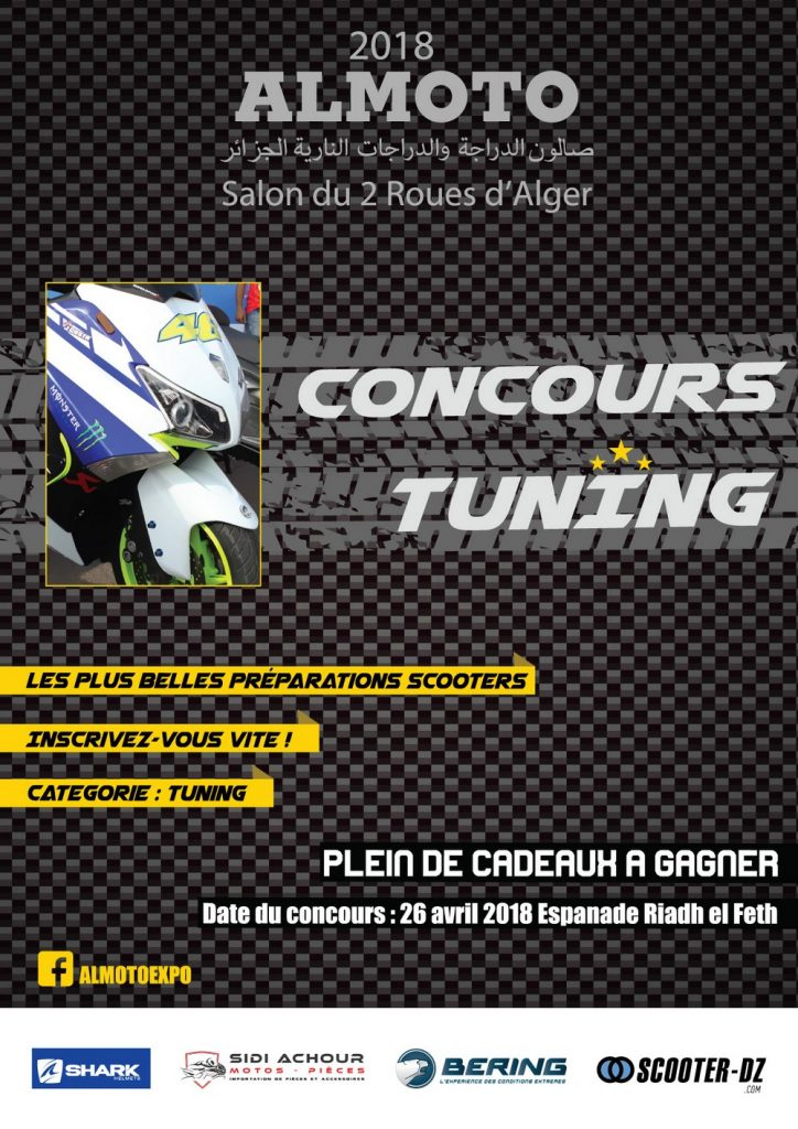 """CONCOURS TUNING """"ALMOTO 2018"""""""