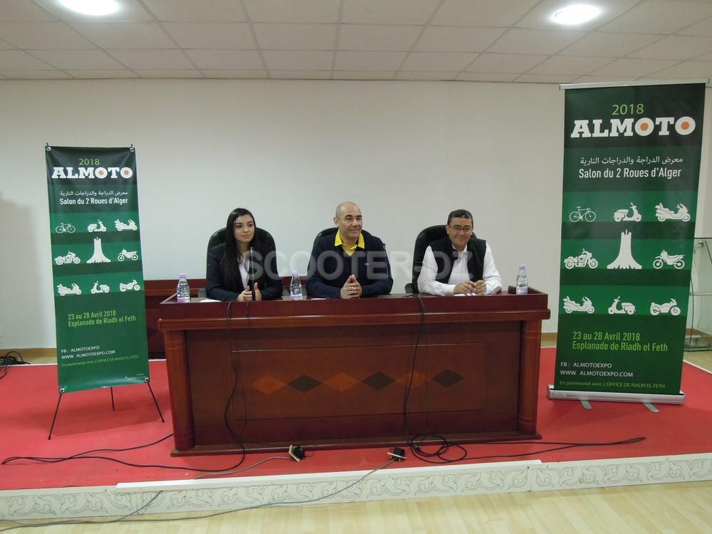 Salon du 2 Roues d'Alger ALMOTO 2018, du 24 au 28 avril 2018