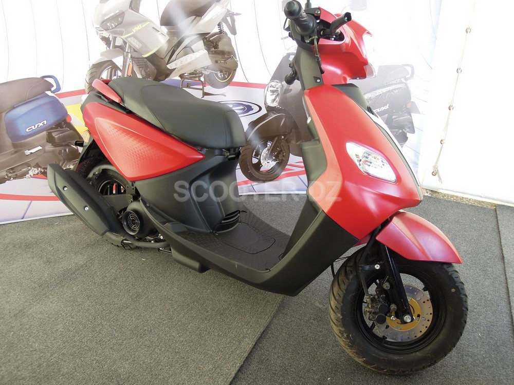 ALMOTO 2018 | VMS Algérie : Joc-i 125, le scooter à prix mini !
