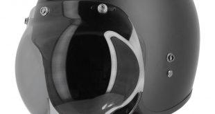 Astone Bellair : casque jet fibres à bulle sphérique