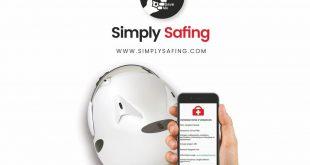 Simply Safing, le réfléchissant casque connecté !