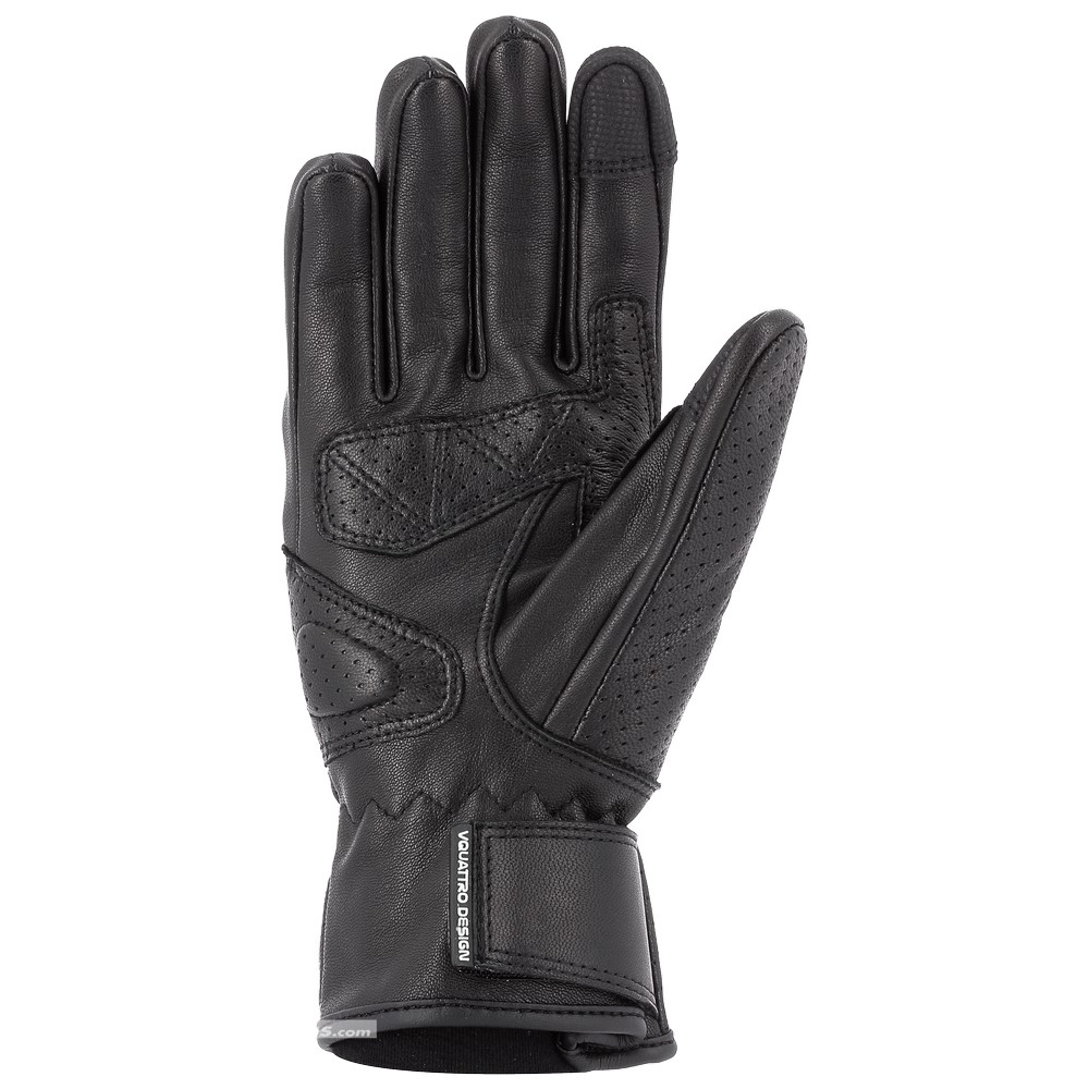 Vquattro Vintaco : gants moto mi-saison en cuir de chèvre
