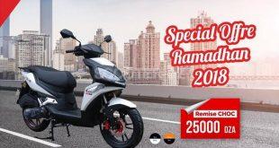 AS Motors : remise de 25.000 dinars sur le scooter, Derby 125