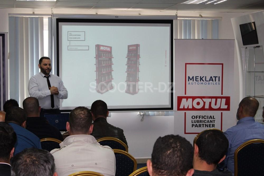 La marque de lubrifiant Motul de nouveau présente en Algérie