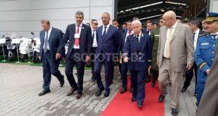 SYM Algérie : visite du Ministre de l'Intérieur à l'usine de Ain Azel