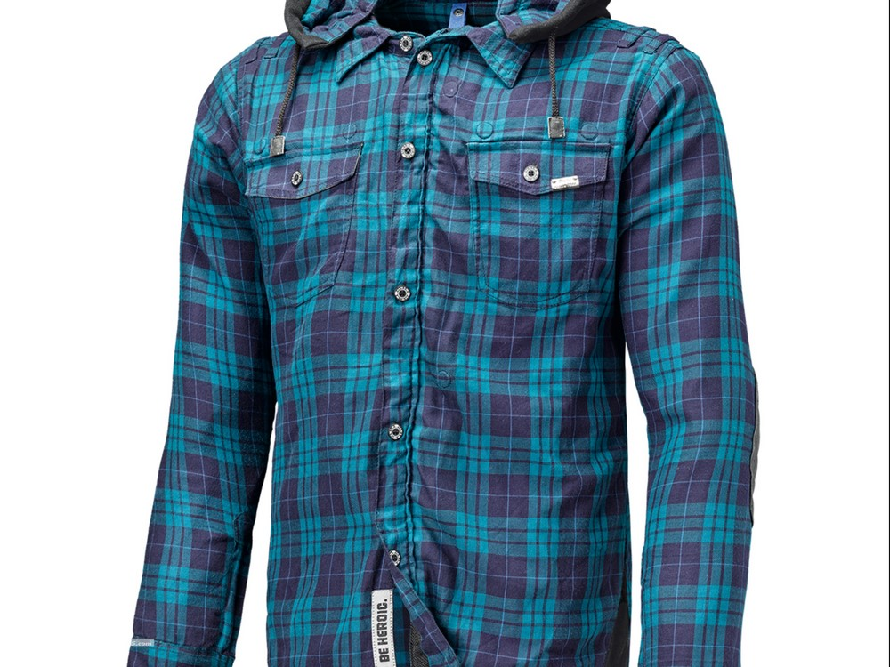 Held LumberJack : chemise à carreaux homologuée !