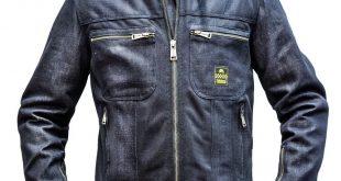 Helstons Genesis : blouson en jeans aéré