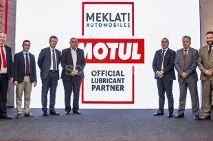 Annonce officielle du partenariat entre MOTUL et Meklati Automobiles en Algérie