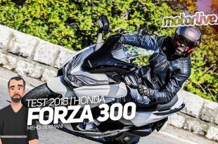 Vidéo essai Honda Forza 300 : en ligne sur Motorlive.tv