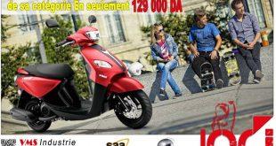 Scooter économique : le VMS Joc-i 125 à 129.000 dinars