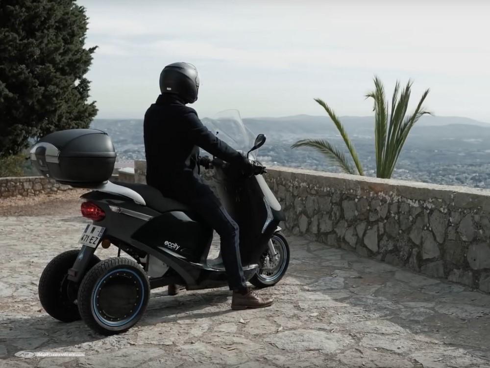 Scooter électrique 3 roues Eccity : le Model 3 au Mondial de Paris