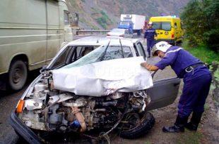 Accidents de la circulation : 4 morts et 21 blessés durant les dernières 72 heures