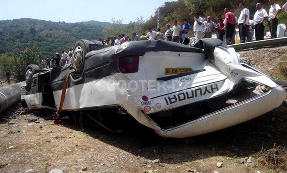 Accidents de la route : 12 personnes décédées et 314 autres blessées en une semaine