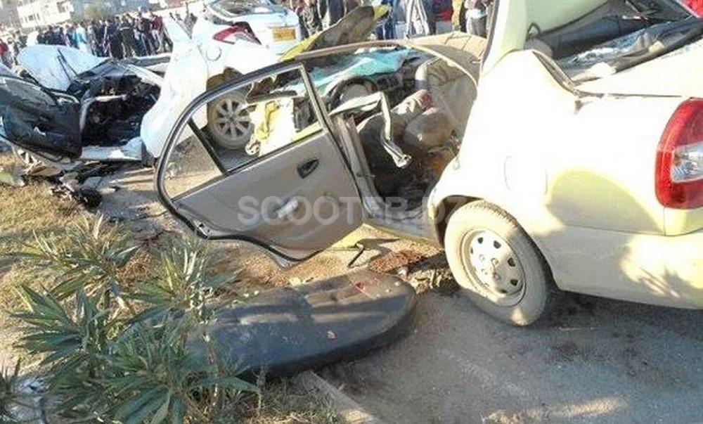 Accidents de route : 20 morts et 345 blessés en une semaine