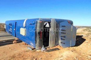 Biskra : 2 décès et 42 blessés dans le renversement d'un bus à Bir Naâm