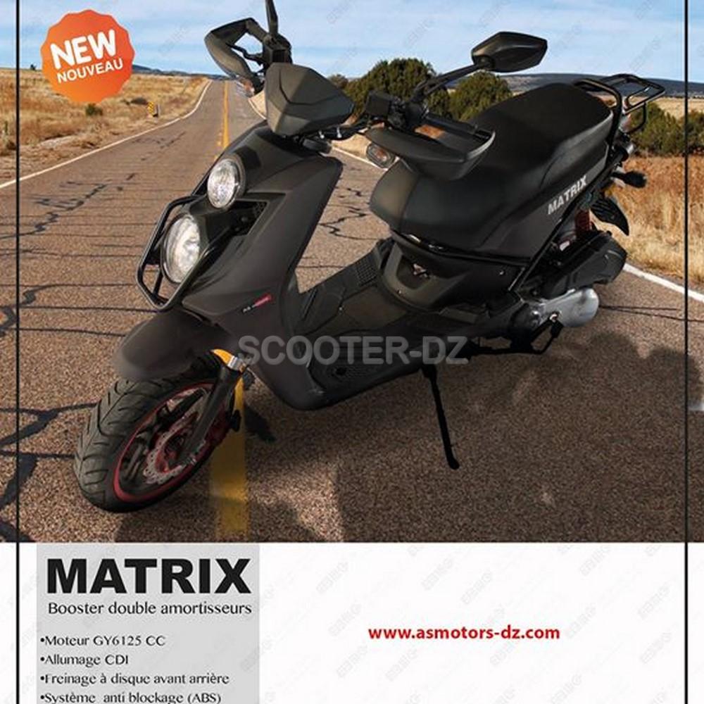 AS Motors baisse les prix du Matrix 125 et du H2 125