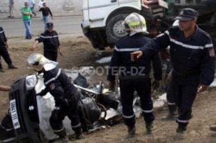 Accidents de la route : 14 morts et 28 blessés durant les dernières 48 heures