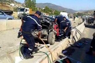Accidents de la route : 35 personnes décédées en une semaine