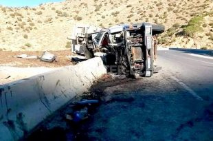Accidents de la route : 38 personnes décédées et 1099 autres blessées durant la période du 7 au 13 octobre