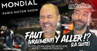 Nouveautés Moto 2019 : 3ème partie (vidéo) | Paris Motor Show 2018