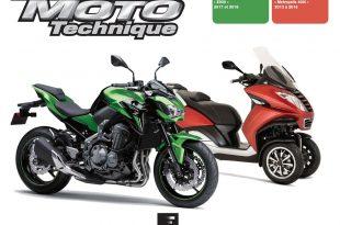 Parution Revue Moto Technique - Kawasaki Z900 et Peugeot Metropolis