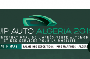 EQUIP AUTO ALGERIA 2019 du 11 au 14 mars 2019 Safex | Alger