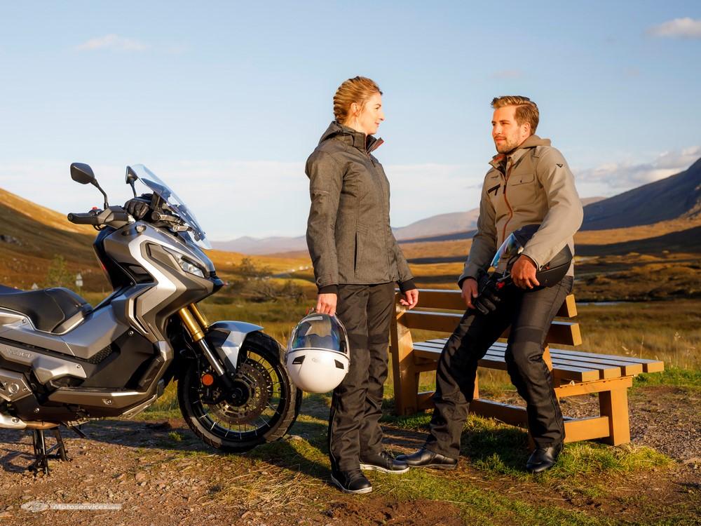 Vanucci Tifoso : la veste Louis-Moto textile automnale et urbaine