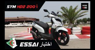 ESSAI COMPLET : SYM HD2 200i