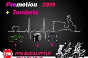 SYM : Tombola et promotion avec SYM Eucalyptus Alger