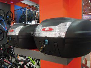 SYM Algérie propose une gamme de 03 top-cases pour motocycle