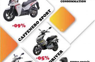 VMS Industrie : promotion du Caffenero Sport, Logik 150 et Driver 150