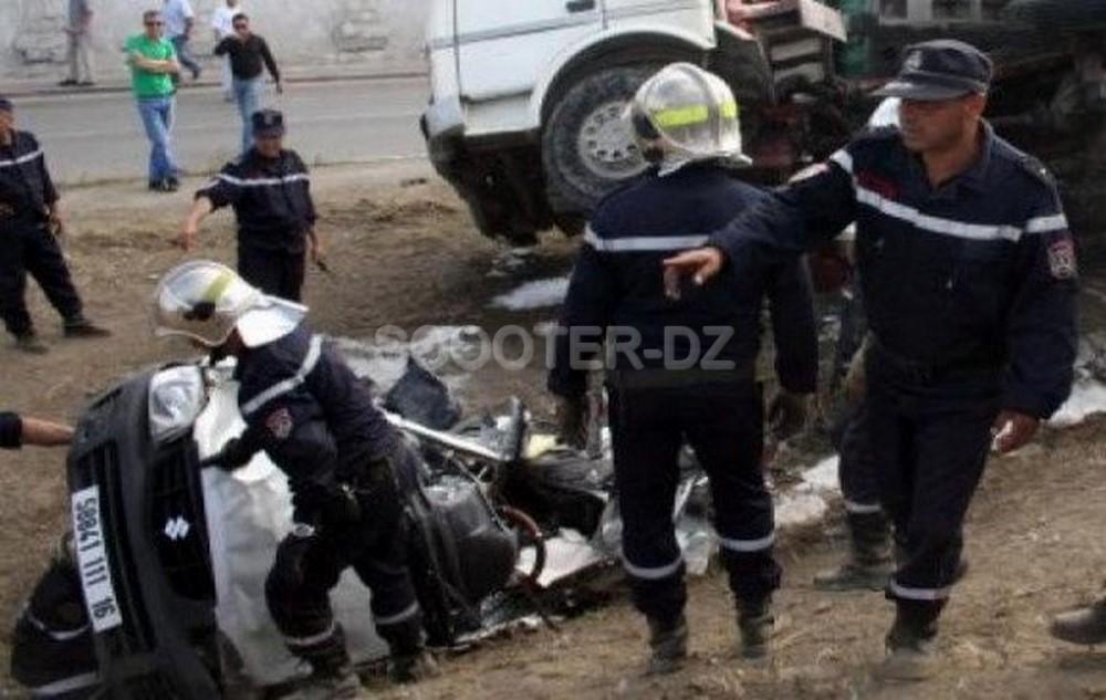 Accidents-Alger : 39 décès et près de 700 blessés en dix mois