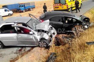 Accidents de la circulation : 31 morts et plus de 1.000 blessés en une semaine