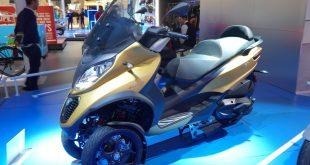 Piaggio MP3 500 hpe Sport Advanced : avec marche arrière !