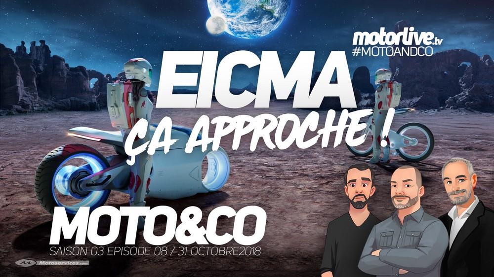 Salon Moto 2018 : Eicma approche