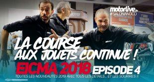 Salon Moto Eicma 2018 : elle est là, la moto du futur ? Ep.4
